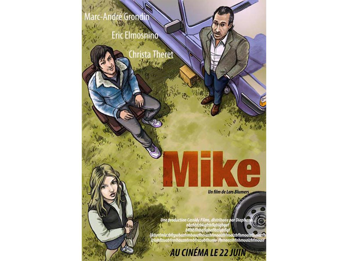 MIKE un film de Lars Blumers Projet d'affiche