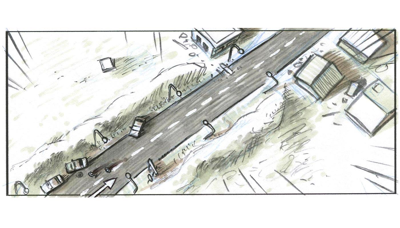 storyboard film  Fouad Benhammou