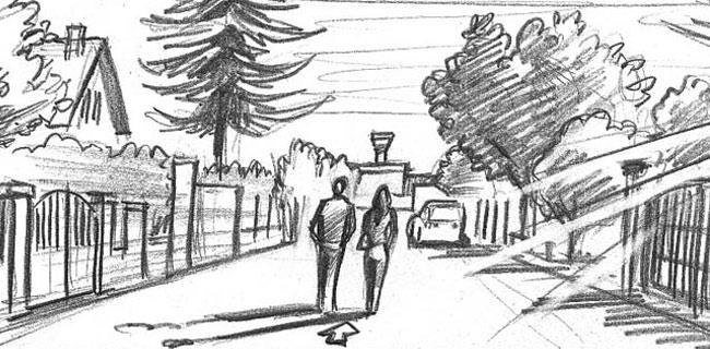 storyboard du film de Lars Blumers