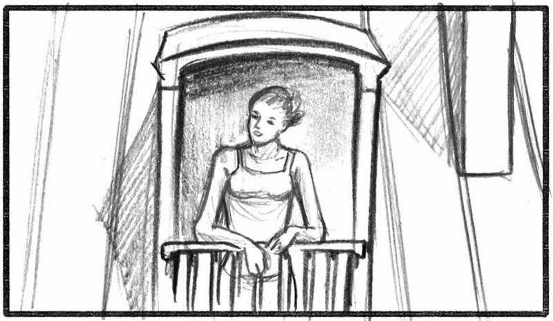 Paris La ville à remonter le temps Docu-fiction storyboard du film de Xavier Lefebvre