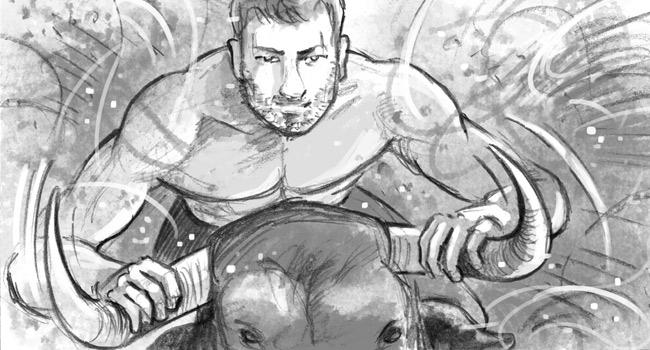 Storyboard camapgne Paco Rabanne Invictus Legend